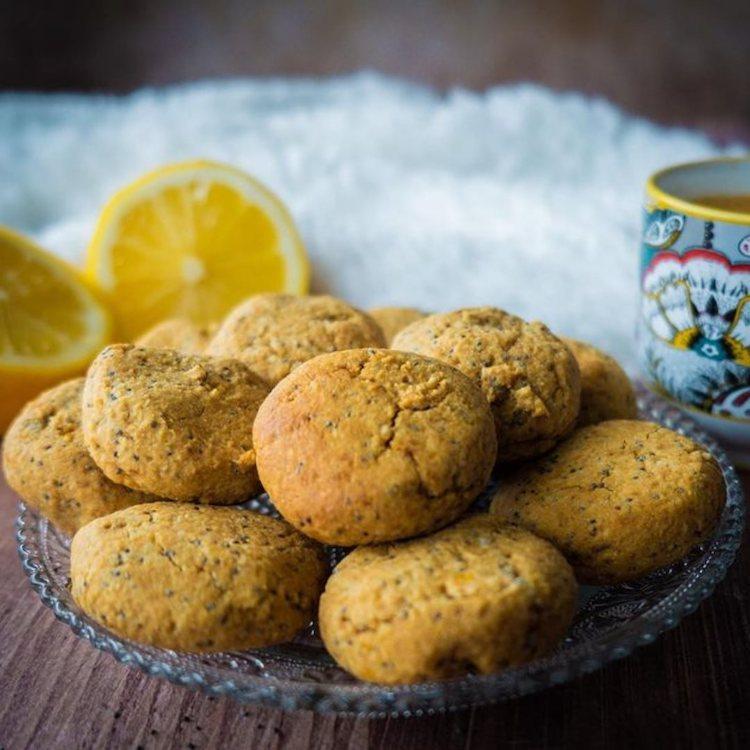 Recette de biscuits citron pavot sans gluten et vegan
