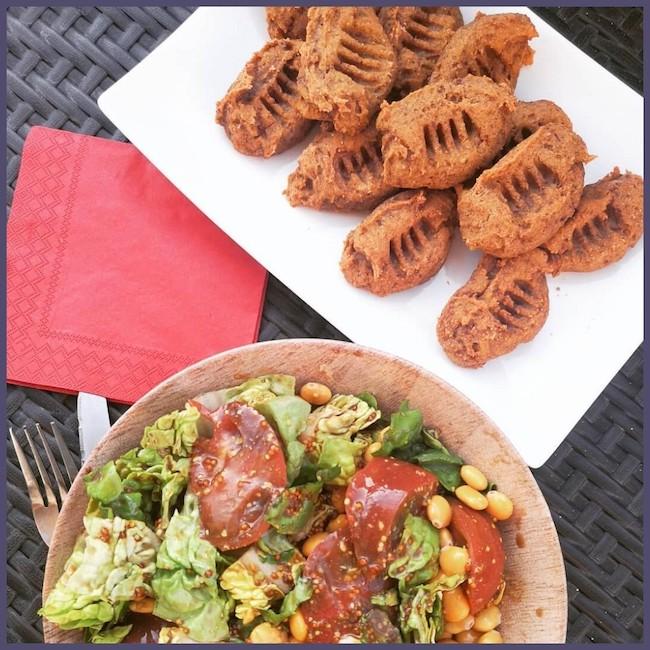 recette de gnocchis sans gluten à la farine de patate douce et à la betteraves