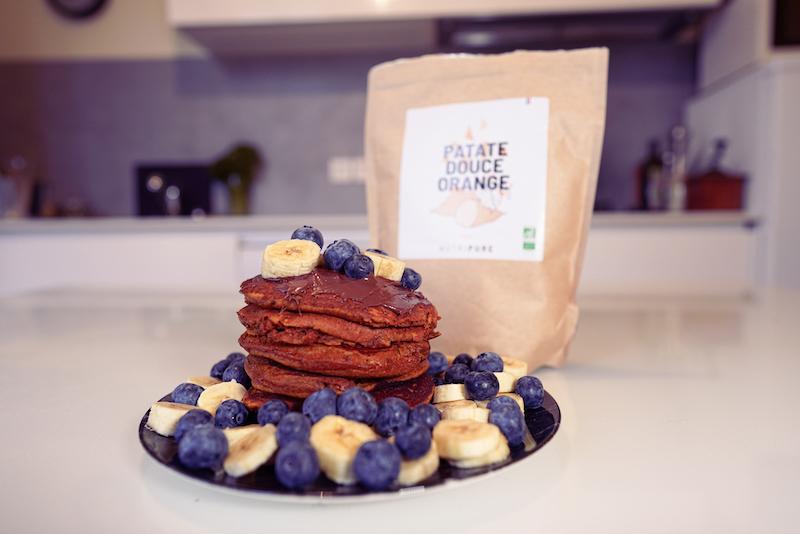 Recette de pancakes healthy
