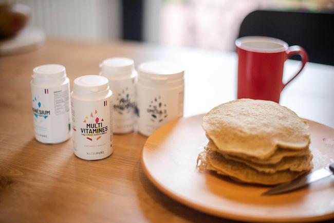 petit-déjeuner prise de masse