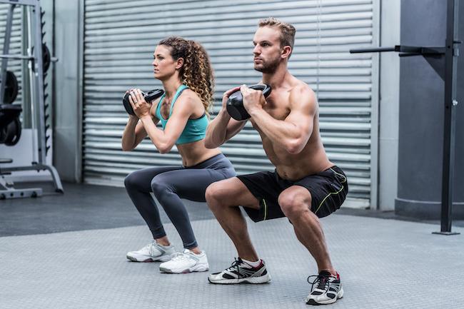 squat prise de muscles