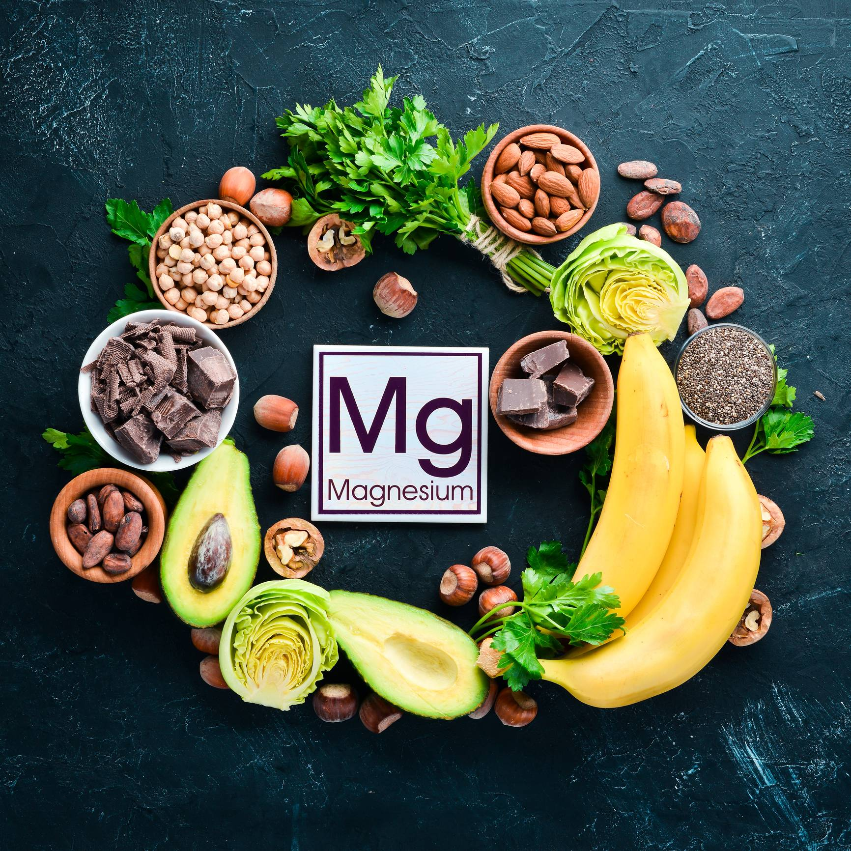 source magnésium alimentation équilibrée