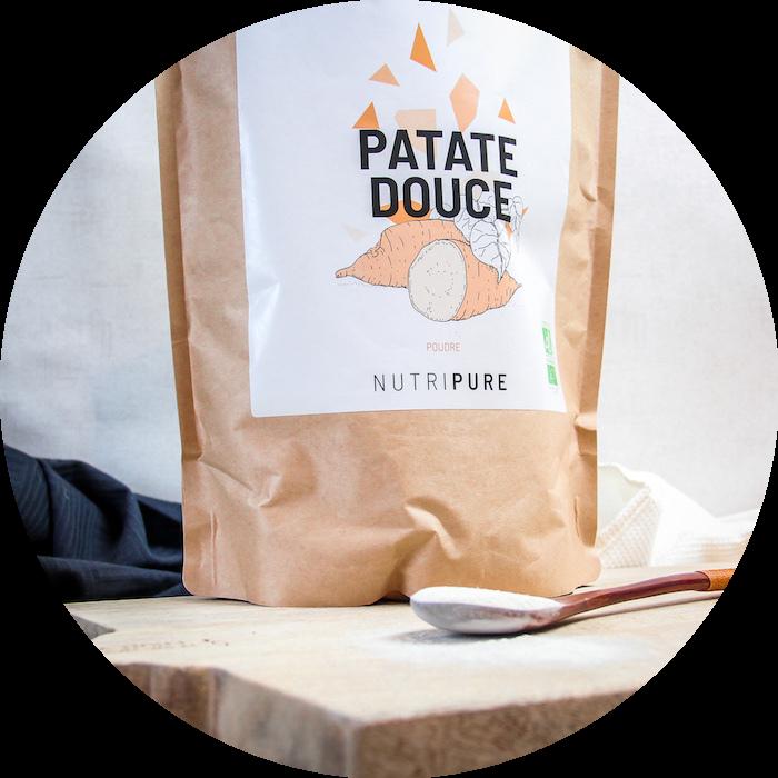 Farine patate douce
