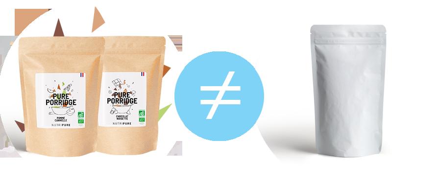différence granola nutripure et granola du commerce
