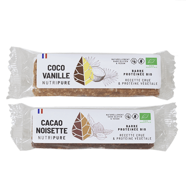 Raw Barres protéinées Bio vegan