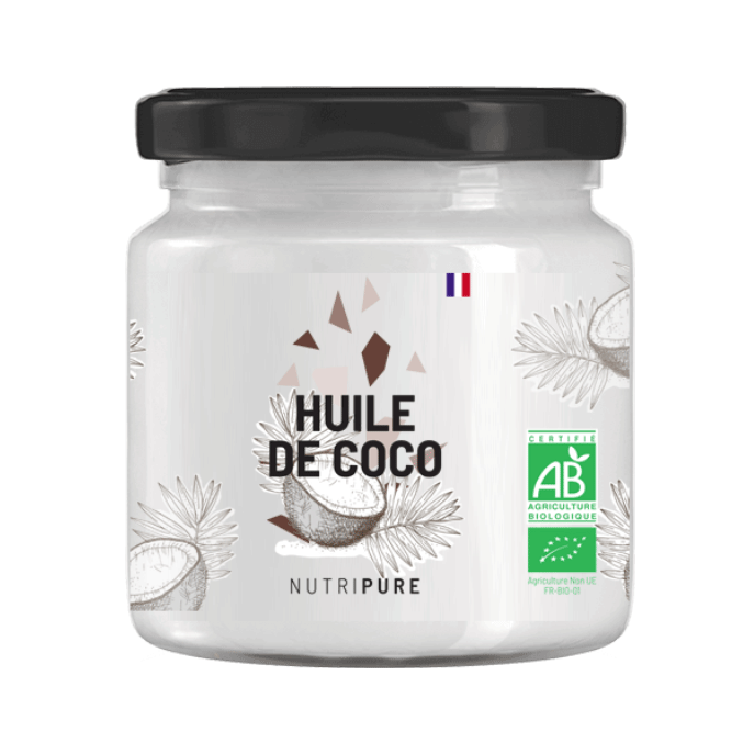 huile de coco bio vegan