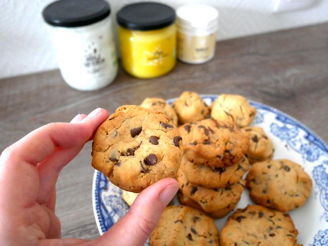 cookies sans gluten et sans lactose