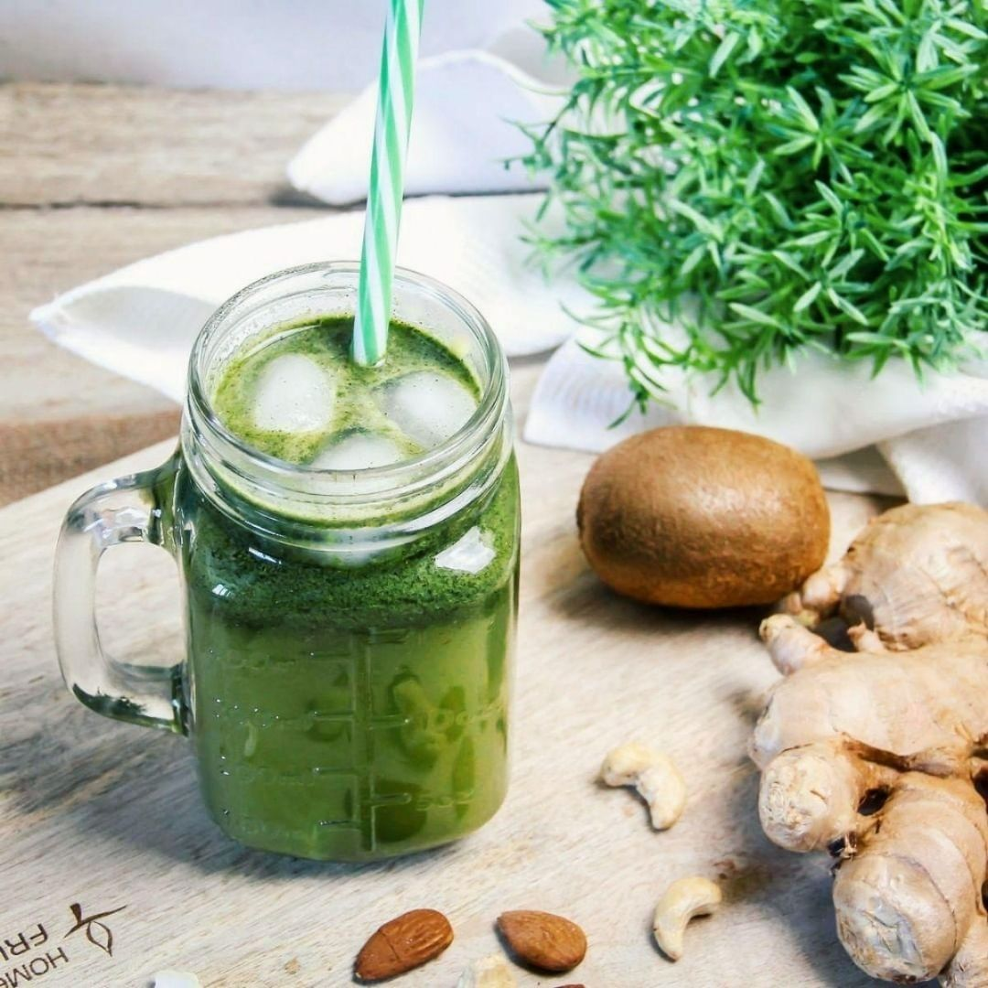 recette green smoothie ortie